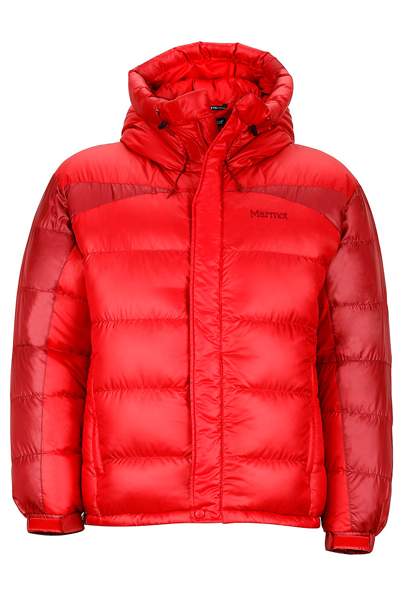 Greenland Baffled Jacket, Team Red/Brick, large