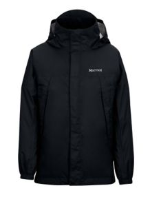 Boys' PreCip Jacket, Black, medium