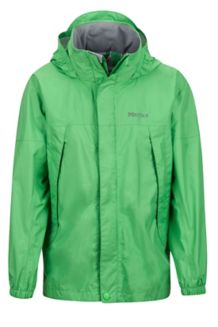 Boy's PreCip Jacket, Emerald, medium