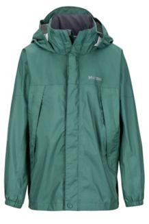 Boys' PreCip Jacket, Mallard Green, medium