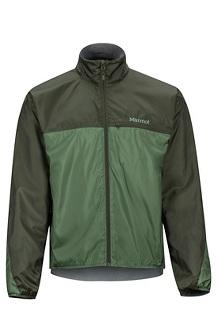 Men's DriClime Windshirt, Crocodile/Rosin Green, medium