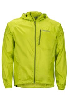 Trail Wind Hoody, Bright Lime, medium