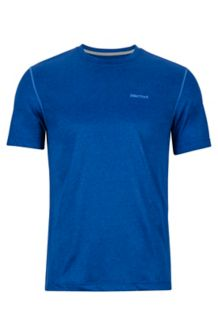 Conveyor Tee SS, Dark Cerulean Heather, medium