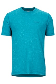 Men's Conveyor Short-Sleeve T-Shirt, Moroccan Blue Heather, medium