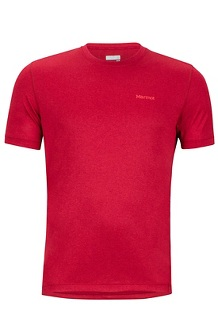 Men's Conveyor Short-Sleeve T-Shirt, Sienna Red Heather, medium