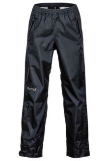 Kids' PreCip Pants, Black, medium