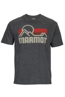 Marmot Coastal Tee SS, Charcoal Heather, medium