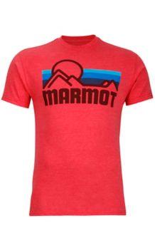 Marmot Coastal Tee SS, True Red Heather, medium