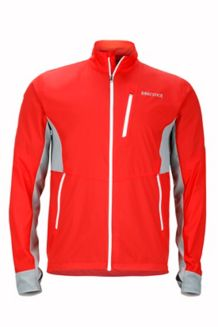 Hyperdash Jacket, Scarlet Red/Grey Storm, medium