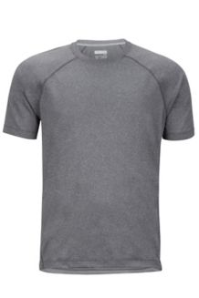 Accelerate SS Shirt, Grey Storm Heather, medium