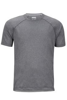 Accelerate SS Shirt, Grey Storm Heather, medium