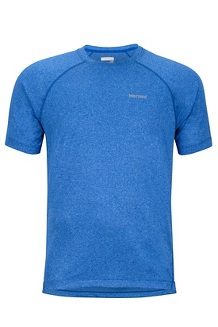 Accelerate SS Shirt, Surf Heather, medium