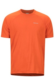 Accelerate SS Shirt, Orange Haze Heather, medium