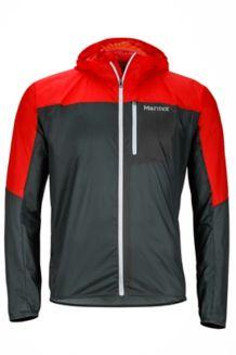 Air Lite Jacket, Dark Zinc/Scarlet Red, medium