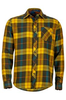 Anderson Flannel LS, Deep Olive, medium