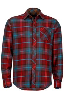 Anderson Flannel LS, Port, medium