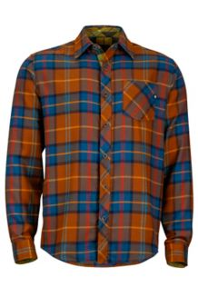 Anderson Flannel LS, Coffee, medium