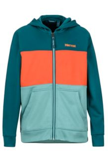 Boy's Rincon Hoody, Deep Teal/Blue Agave, medium