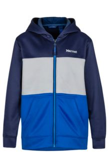 Boy's Rincon Hoody, Arctic Navy/True Blue, medium