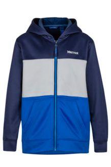 Boy's Rincon Hoody, Arctic Navy/True Blue, medium