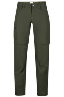 Transcend Convertible Pant, Forest Night, medium