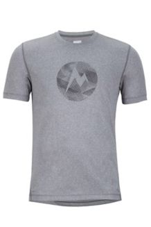 Transporter SS Tee, Pure Cinder Heather, medium