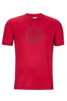 Transporter SS Tee, Sienna Red Heather, medium