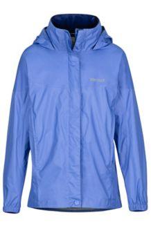 Girls' PreCip Jacket, Lilac, medium