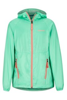 Girls' Ether Hoody, Double Mint, medium
