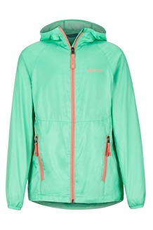 Girl's Ether Hoody, Double Mint, medium