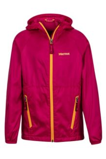 Girl's Ether Hoody, Sangria, medium