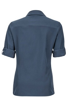 Women's Annika LS Shirt, Dark Steel, medium