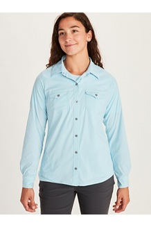 Women's Annika LS Shirt, Corydalis Blue, medium