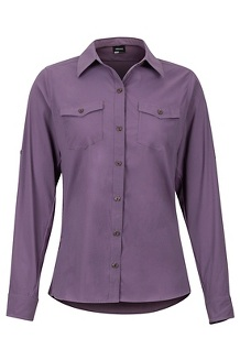 Women's Annika LS Shirt, Vintage Violet, medium