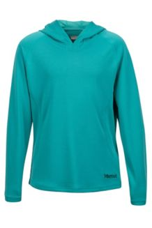 Girl's Kylie Hoody, Teal Tide, medium