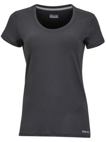 Women's All Around SS Tee, Black, medium