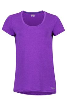 Wm's All Around Tee SS, Bright Violet, medium