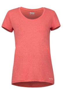 Women's All Around SS Tee, Flamingo, medium
