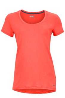 Wm's All Around Tee SS, Neon Coral, medium