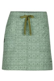 Wm's Ginny Skirt, Stone Green Ikat, medium
