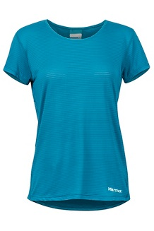 Women's Aero SS Shirt, Late Night, medium