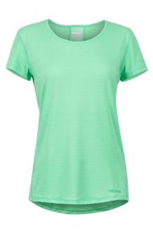 Women's Aero SS Shirt, Double Mint, medium