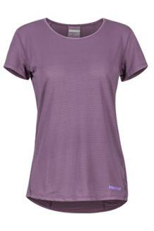 Women's Aero SS Shirt, Vintage Violet, medium