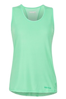 Women's Aero Tank, Double Mint, medium