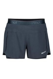 Wm's Pulse Short, Black, medium