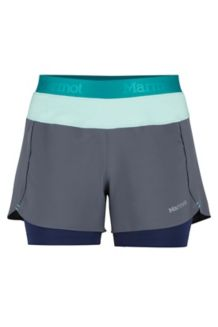 Wm's Pulse Short, Steel Onyx/Clear Sky, medium