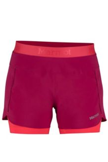 Wm's Pulse Short, Sangria, medium