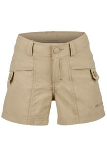 Girl's Ginny Short, Desert Khaki, medium