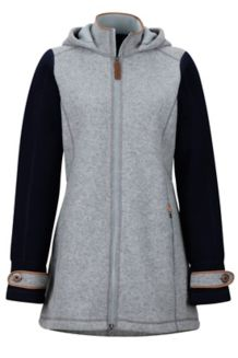 Wm's Eliana Sweater, Grey Storm Heather/Arctic Navy Heather, medium