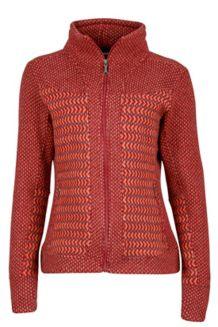 Wm's Gwen Sweater, Madder Red, medium